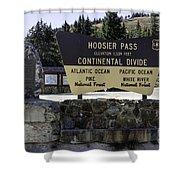 Hoosier Pass Shower Curtain