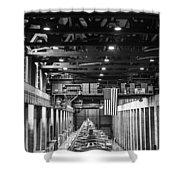 Hoover Dam Generators Shower Curtain