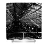 Hoover Dam Intake Pipe Shower Curtain