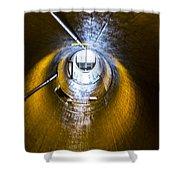Hoover Dam Ventilation Tunnel Shower Curtain