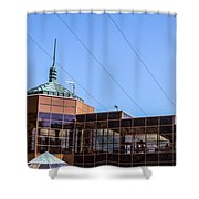 Hoover Dam Visitor Center Shower Curtain