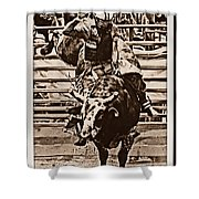 Hooves In The Air Shower Curtain