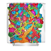 Hooya Shower Curtain