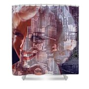 Hope And Tragedy Shower Curtain