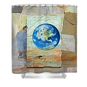 Hope For Humanity Shower Curtain
