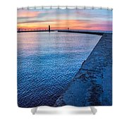Hope On The Horizon Shower Curtain