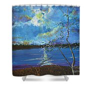Hope Prevailing Shower Curtain