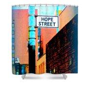 Hope Street Shower Curtain