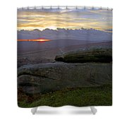 Hope Valley Sunset Shower Curtain