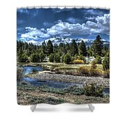 Hope Valley Wildlife Area 2 Shower Curtain