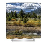 Hope Valley Wildlife Area Shower Curtain