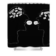 Hopes And Dreams Shower Curtain