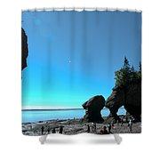 Hopewell Rocks Shower Curtain