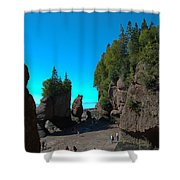 Hopewell Rocks2 Shower Curtain