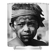 Hopi Annual Indian Inter Tribal Rodeo Gallup New Mexico 1969 Shower Curtain
