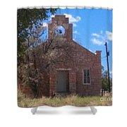 Hopi Church Shower Curtain