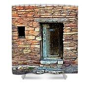 Hopi House Back Entrance Shower Curtain