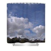 Horizon Sky Shower Curtain