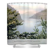 Horizon Shower Curtain