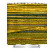 Horizontal And Diagonal Streaks Shower Curtain