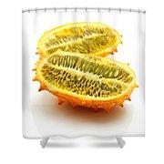 Horned Melon Shower Curtain
