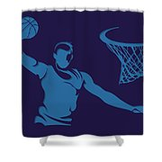 Hornets Shadow Player2 Shower Curtain