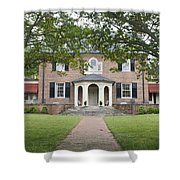 Hornsby House Inn Yorktown Shower Curtain by Teresa Mucha