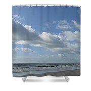 Horse Head Cloud Shower Curtain