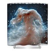Horse Head Nebula Shower Curtain