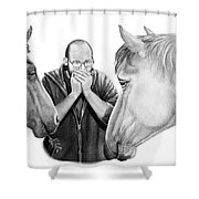 Horse Music Shower Curtain