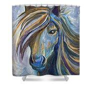 Horse Portrait 102 Shower Curtain