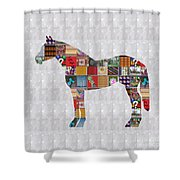 Horse Showcasing Navinjoshi Gallery Art Icons Buy Faa Products Or Download For Self Printing  Navin  Shower Curtain
