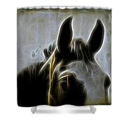 Horse Whispers Shower Curtain