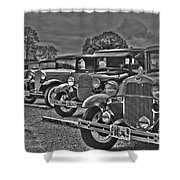 Horseless Carriages Shower Curtain