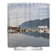 Horseshoe Bay Vancouver Bc Canada Shower Curtain