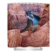 Horseshoe Bend At Dawn Shower Curtain