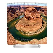 Horseshoe Bend - Nature's Awesome Work Shower Curtain