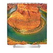 Horseshoe Bend Two Shower Curtain