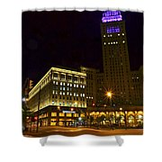 Horseshoe Casino Cleveland Shower Curtain
