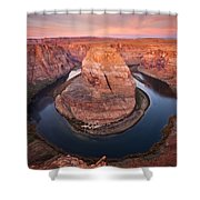 Horseshoe Dawn Shower Curtain