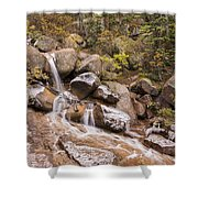 Horsethief Falls - Cripple Creek Colorado Shower Curtain