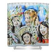 Hosanna Rome Shower Curtain
