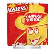 Hostess Twinkie The Kid Shower Curtain by Tony Rubino
