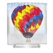 Hot Air Balloon 05 Shower Curtain
