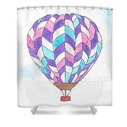 Hot Air Balloon 06 Shower Curtain