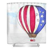 Hot Air Balloon 07 Shower Curtain