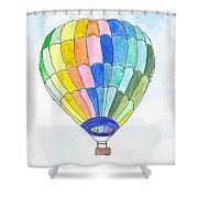 Hot Air Balloon 08 Shower Curtain