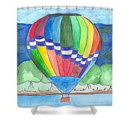 Hot Air Balloon 11 Shower Curtain