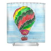 Hot Air Balloon Misc 03 Shower Curtain