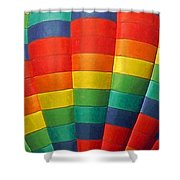 Hot Air Balloon Painterly Shower Curtain